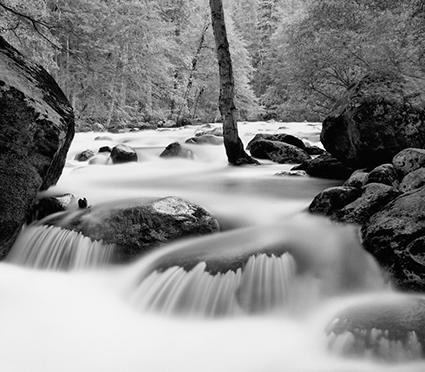 Merced River, Happy Isles, Yosemite Valley, California