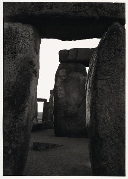 Paul Caponigro, Inner Trilithon, Sunrise, Stonehenge, 1970, Gela