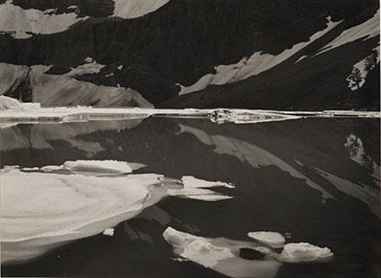 Iceberg Lake, Glacier National Park, Montana, 1978