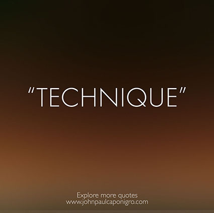 Quotes_Technique